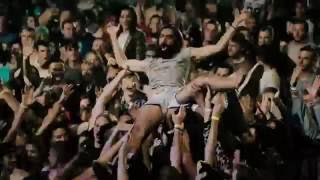 MORPHINE SUFFERING на WOODSTOCK UKRAINE 2016 Stage diving