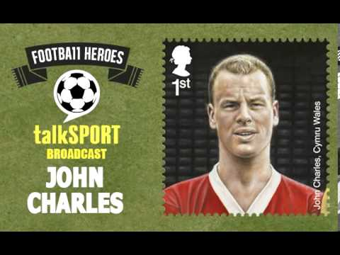 Royal Mail Football Heroes Stamps -- talkSPORT: John Charles