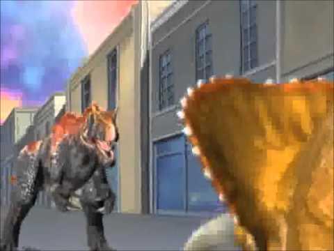 Saurophaganax Dinosaur King ~ The Last Song Amv Lyrics video