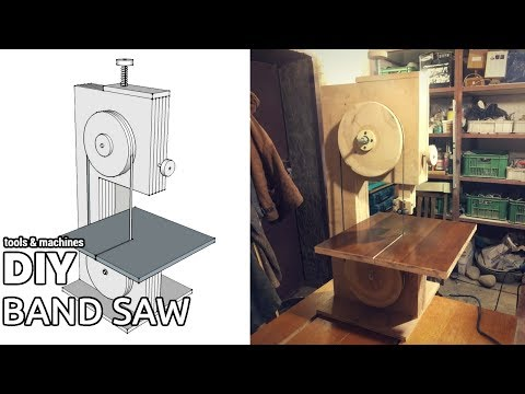Cheap DIY bandsaw (part 1)