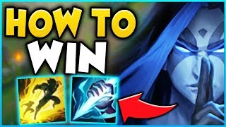 HOW TO WIN EVERY RANKED GAME WITH BLUE KAYN! RANK 1 KAYN WORLD JUNGLE GUIDE! - League of Legends