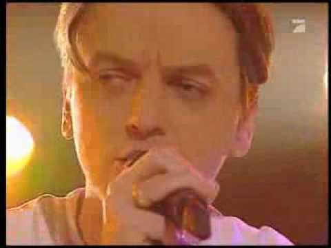 Peter Heppner mit Schiller - I feel you - live