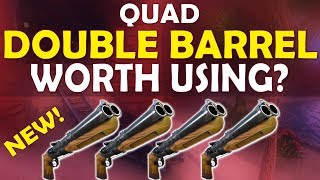 QUAD DOUBLE BARREL SHOTGUN | IS IT WORTH USING? - (Fortnite Battle Royale)
