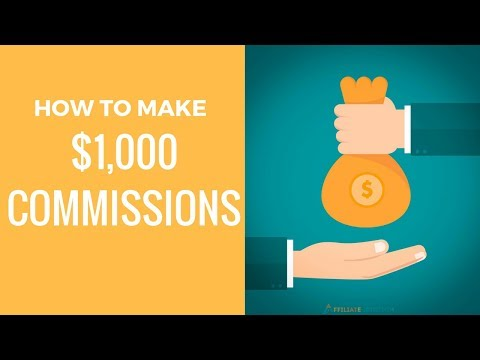 How to Make $1,000 Commissions as A Newbie Using High Paying Affiliate Programs