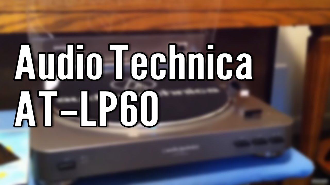 Review Audio Technica At Lp60 Stereo Turntable Youtube
