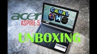 Unboxing Acer Aspire 5 Intel I5 8va Gen 1TB 4GB DDR4 Plus 16GB Optane Nvidia MX130 2GB DDR5
