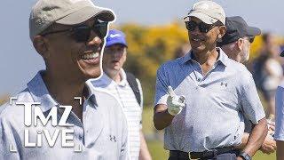 Barack Obama: Retirement Looks Good On Him | TMZ Live