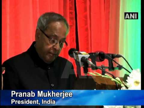 Dhaka, March 05 (ANI): Bangladesh President Zillur Rahman conferred its second highest civilian award on his Indian counterpart Pranab Mukherjee on Monday fo...