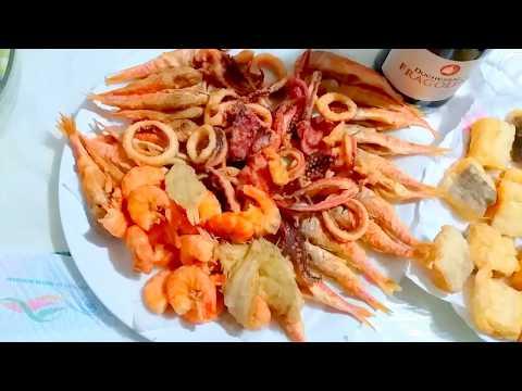 Жареные Морепродукты. Традиционный Неаполитанский Ужин в Сочельник