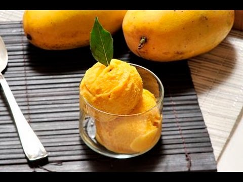 Helado de mango - Mango Ice Cream