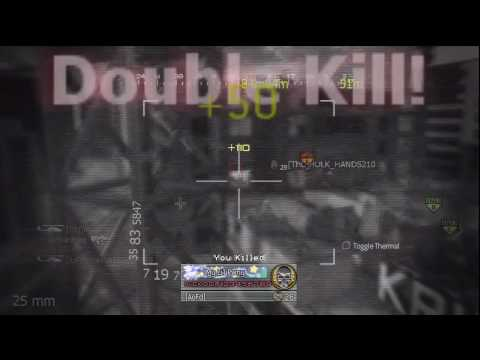 Modern Warfare 2 Domination #11 HD (UMP .45/ Tactical Nuke)