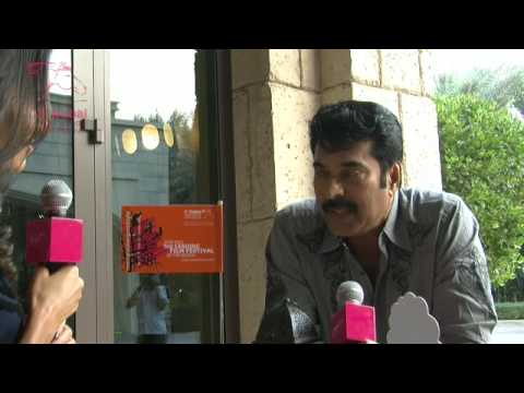 DIFF09 - Mammootty Interview