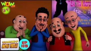 Motu Patlu Cartoons In Hindi | Animated cartoon | Ek thee heroine | Wow Kidz