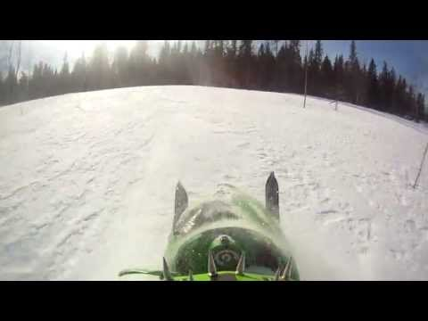 ARCTIC CAT M7 AND M8 LONG AND STEEP HILLCLIMB SPRING 2013
