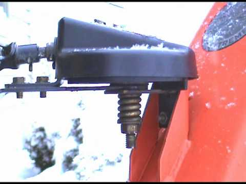 Ariens 1028 Snowblower  PART 3OF 3:  Chute Tension Adjustment