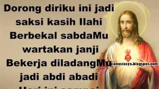 SabdaMu Bapa Bagai Air segar ( Lagu Rohani Katolik ) youtube lirik