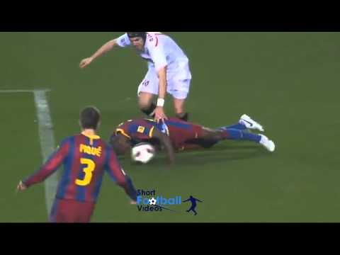Eric Abidal Head Tackle