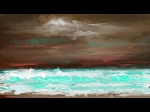 Digital fine art Speed Painting using Corel Painter 2016