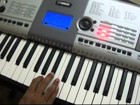 Play in Keyboard - Hindi - Akele Hum Akele Tum - Dil Mera Churaya...