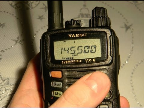 YAESU VX-6E PREZENTACJA HD REVIEW