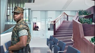 Channel 4: Inside the American Embassy 2D Parallax Animation Trailer