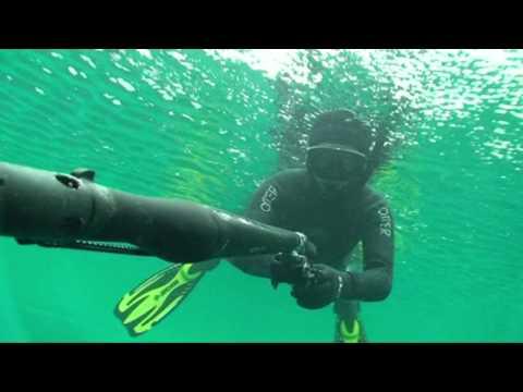 Airbalete omer тест ружья на голубом озере
