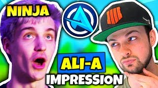 NINJA DOES ALI-A IMPRESSION | Fortnite Daily Funny Moments Ep.78