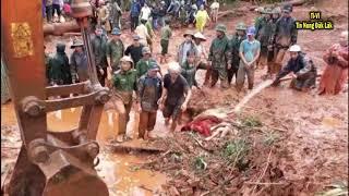 3 người trong một gia đình bị vùi lấp do mưa lớn gây sạt lở đất