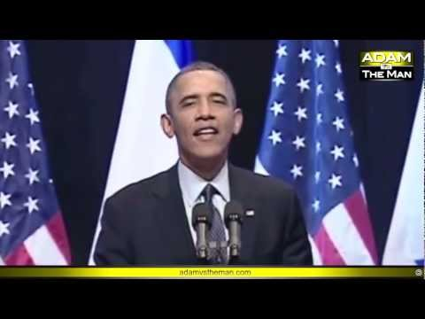 Obama heckled in Israel - here's why