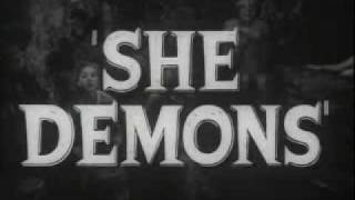 She Demons (1958) - Official Movie Trailer