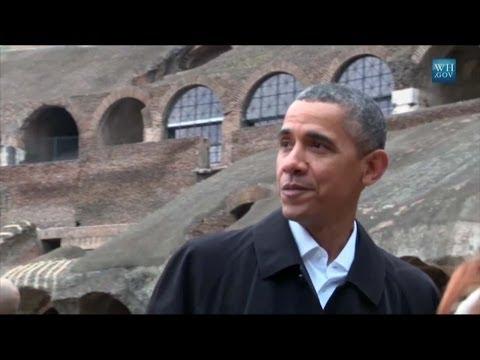 Dalla The White House il dietro le quinte del viaggio di Obama a Roma