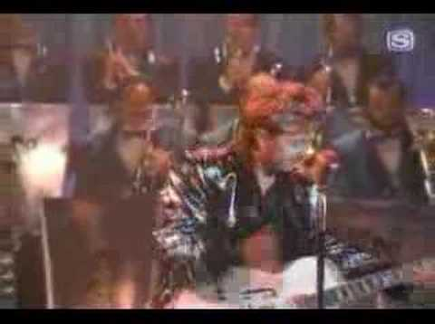 Cover image of song Lady luck by Brian Setzer orchestra