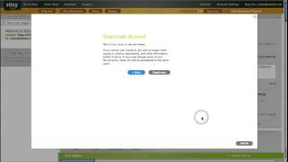 Stixy tutorial - How To Deactivate Your Stixy Account
