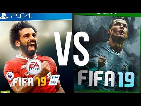 ОБЛОЖКА FIFA 19 - РОНАЛДУ ПРОТИВ САЛАХА