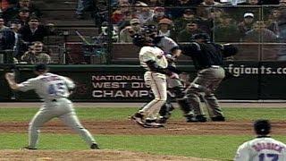 2000 NLDS Gm2: Franco freezes Bonds, Mets even series
