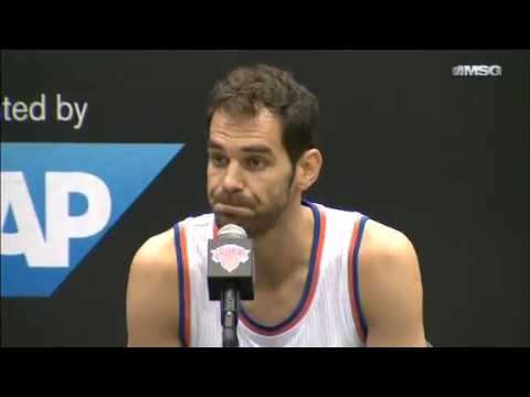 Knicks Media Day 14: Jose Calderon, Andrea Bargnani, Jason Smith