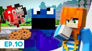 I'm the Cookie Monster | One Life Season 2 - Minecraft SMP | Ep.10 | Marielitai Gaming