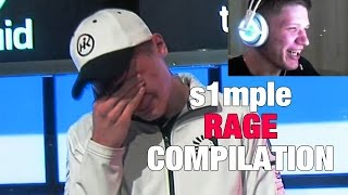 s1mple RAGE compilation, toxic moments [CS:GO]