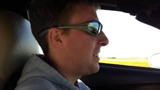 Driving along Toll Road 130, TX