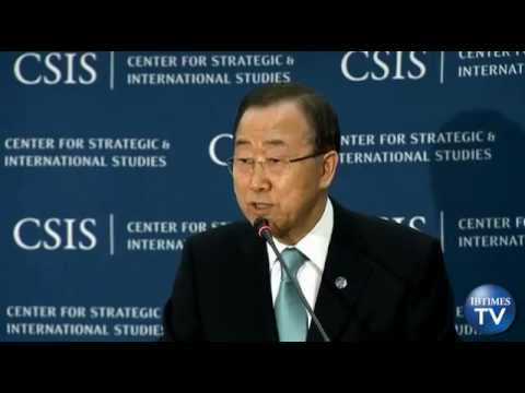 U.N. Chief Ban Ki-moon: Killings in Syria are 'Unacceptable and Intolerable'