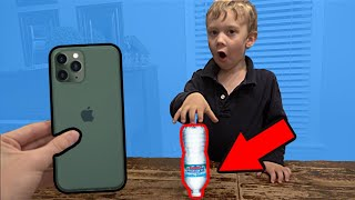 Land the Bottle Flip, Win an iPhone 11 | Colin Amazing