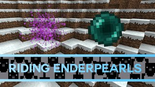 Minecraft 1.12: Riding Enderpearls Tutorial