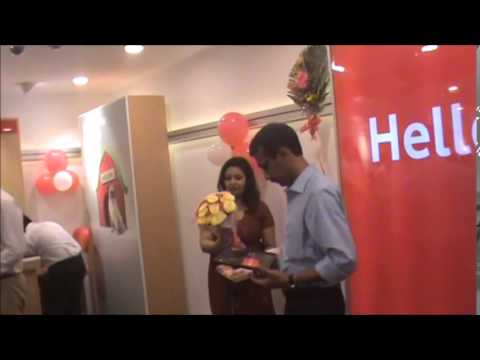 VODAFONE  LAUNCH OF GLOBAL DESIGN STORE IN CHENNAI