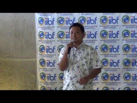 Visi, Misi, & Agenda Kegiatan IIBF Semarang oleh Achmad Yuli (Ketua IIBF Semarang)
