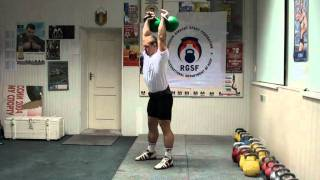 №13 - Breath in Jerk from Igor Morozov - RGSI kettlebell workout