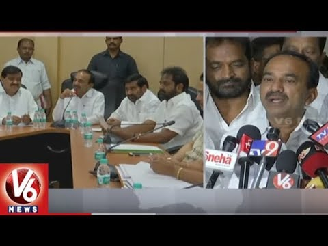 Ministers Sub-Committee Holds Meet With RTC Union Leaders | Hyderabad | V6 News