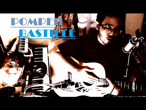 Bastille - Pompeii (Percussive Guitar acoustic cover | w/Chords and Lyrics)