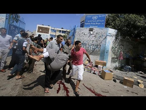 UN boss Ban Ki-moon condemns deadly Gaza school strike as 'criminal act'