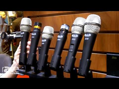 InfoComm 2015: CAD Audio Details CAD Live Handheld Microphone