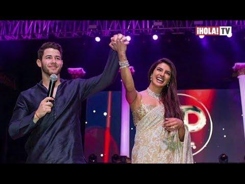 Priyanka Chopra y Nick Jonas celebran su boda al estilo Broadway | ¡HOLA! TV